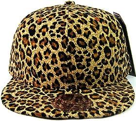 688283d22 All Over Cheetah / Leopard Print Snapback Hat Cap