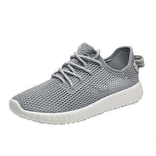 Zapatillas de Seguridad para Mujer Ligeras,Zapatillas de Deporte Respirable para Correr Malla Deportes Zapatos Running Deportivas Sports Sneakers Color ...