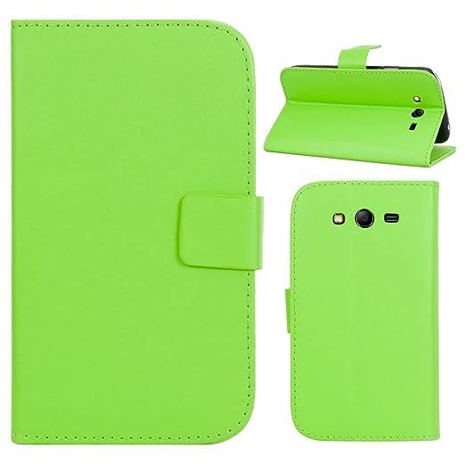 77 opinioni per HUANGTAOLI Custodia in pelle Flip Case Cover per Samsung I9060i Galaxy Grand Neo