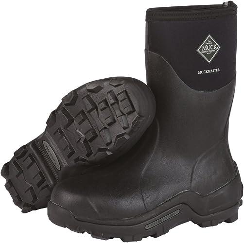 Black Mid NEW MUCK  Muckmaster Boots Commercial Grade Mens 12