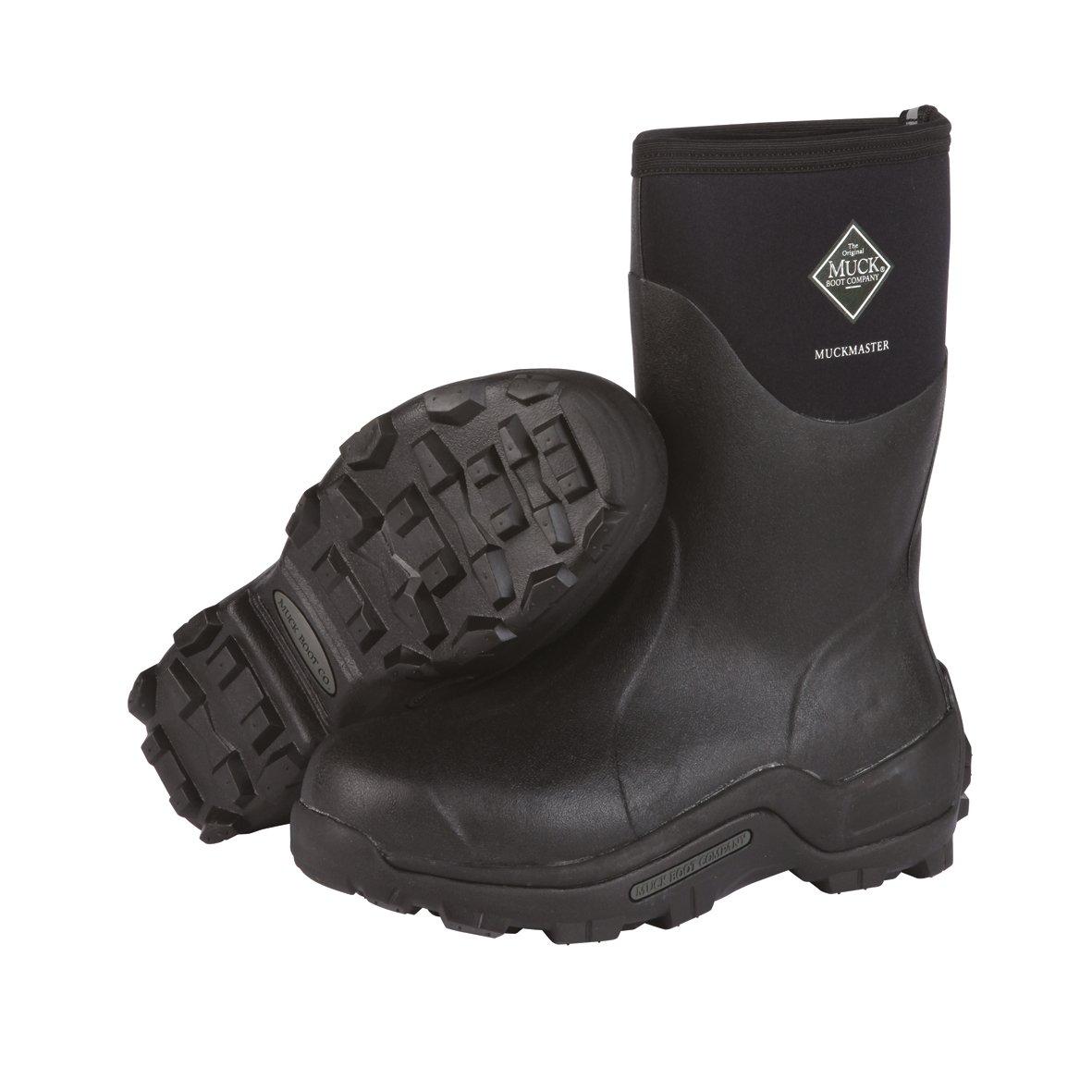 The Original MuckBoots MuckMaster Mid Boot B000YYEXGY Men's 14 M/Women's 15 M|Black