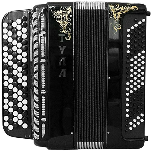Brand New 5 Rows Bayan Tula 209 B-system Stradella, Russian Chromatic Button Accordion, High-class Musical Instrument, Bn-49-3, 5 Row 100 Bass by Tulskaya Garmon