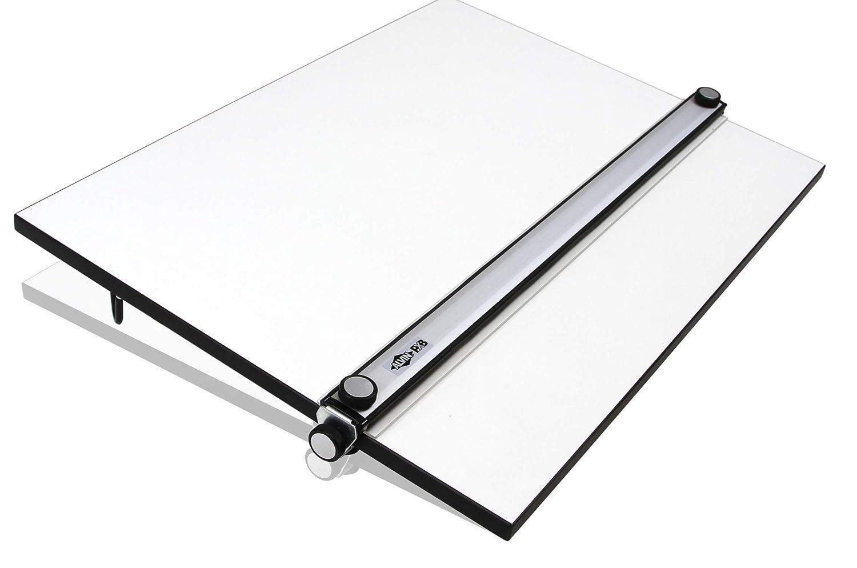 Tablero de Dibujo A2/A2+, Tabla de Dibujo Profesional con Carril ...