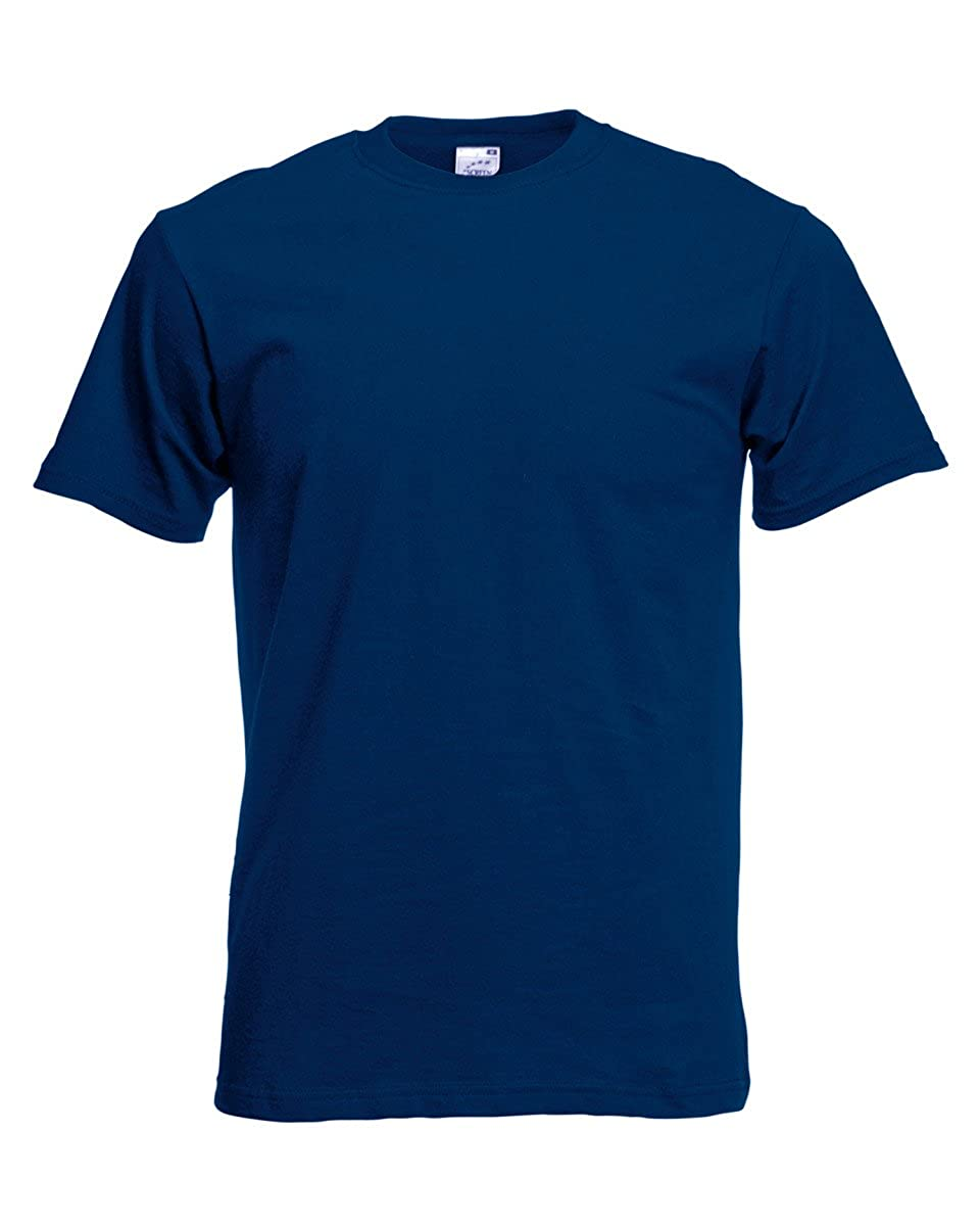 Mens Fruit of the Loom Original Full Cut T Shirt Mens T-shirt 10 Colours