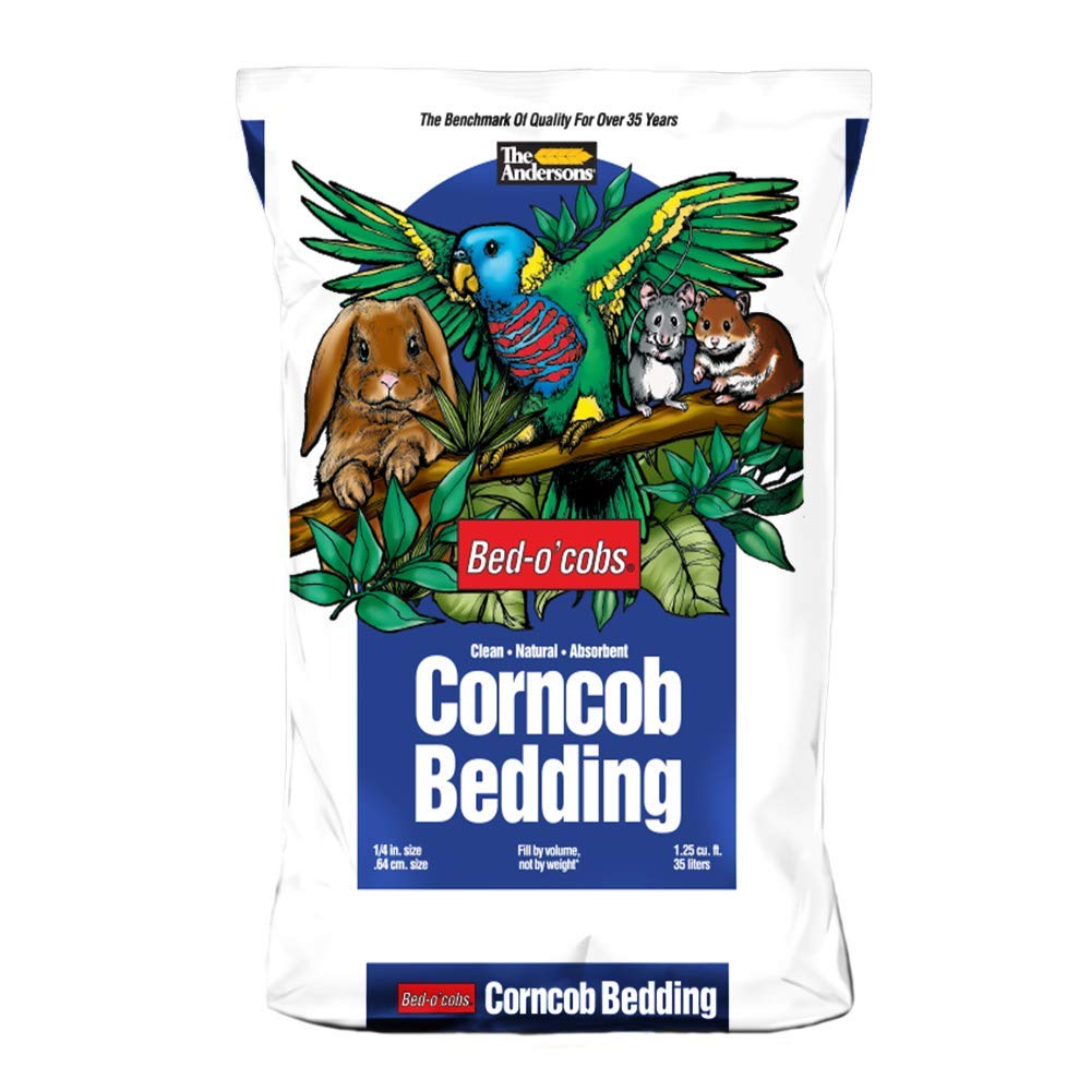 The Andersons Bed-o'Cob Corn Cob Small Pet Bedding and Litter 28lbs/ 35liters