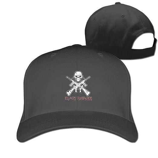 Amazon.com  IRON MAIDEN Heavy Metal Bands Flatbrim Beanies Hats Flat-along  Caps (6310493012683)  Books fd1029b4d00