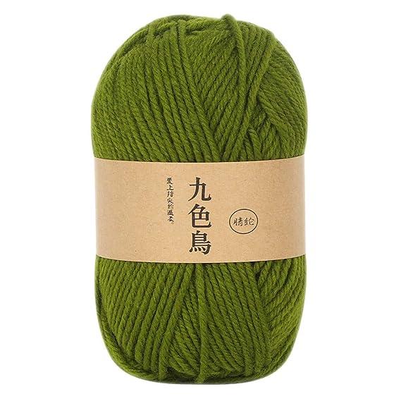 VICKY-HOHO Wool Group acrílico línea Ganchillo DIY Medium ...