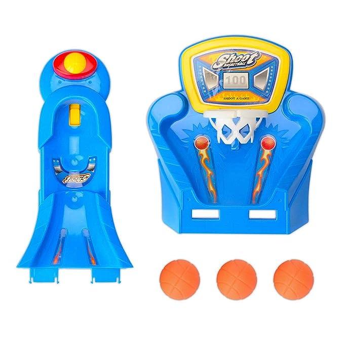 Mini juego de baloncesto Disparo con el dedo Juego de tiro de ...