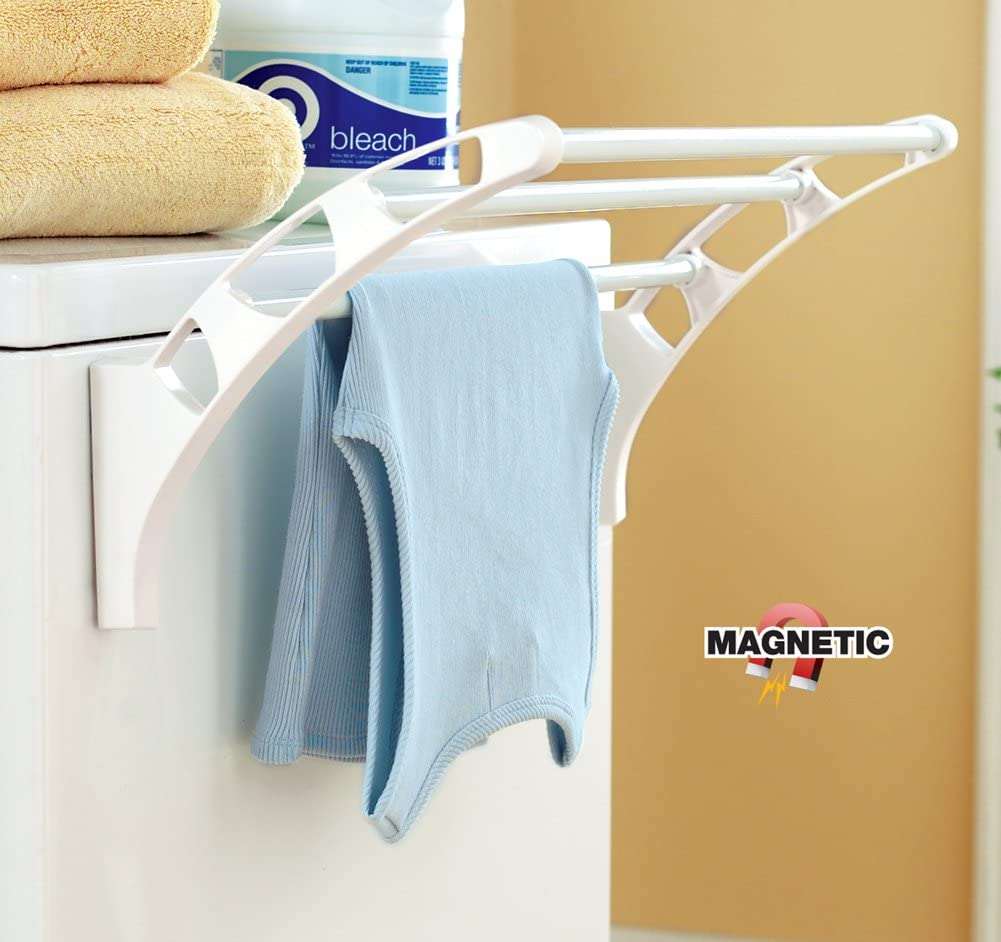 Magnetic Attachable Laundry Drying Rack