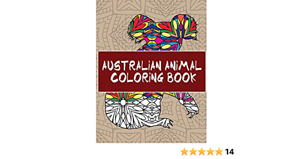Amazon.com: Australian Animal Coloring Book: 30 Beautiful Animal Pages To  Color (9781535237222): Peaks, 14: Books
