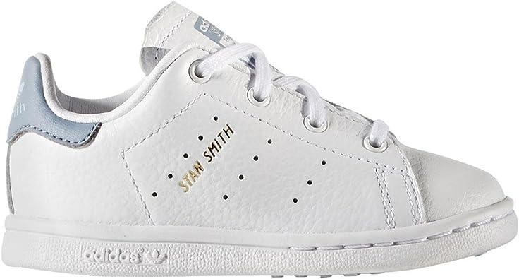limpiar Esta llorando muerte  adidas Stan Smith I, Zapatillas Unisex bebé: Amazon.es: Zapatos y  complementos