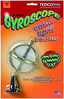product image for The Original Gyroscope - Amazing Spinning Top! It Dances, it Spins, it Balances!