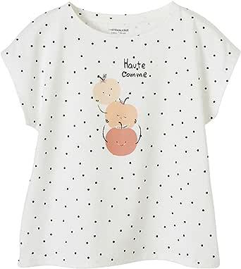 VERTBAUDET Camiseta con Motivo de Fruta aplicado, para niña