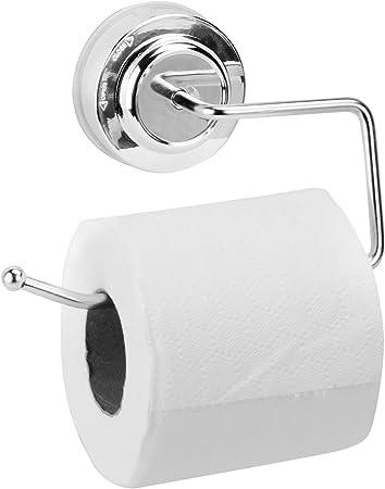 Ventouse Easy Fit Porte-Papier hygi/énique Porte-Rouleau de Papier Toilette /à Montage Mural pour Salle de Bains et Cuisine Porte-Papier Toilette