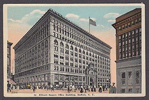 Ellicott Square Office Building Buffalo NY postcard 1910s