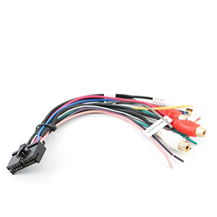 amazon com: xtenzi wire harness radio compatible with jensen 20 pin vm9510  vm8113 vm8013 mp5720 mp5620: automotive