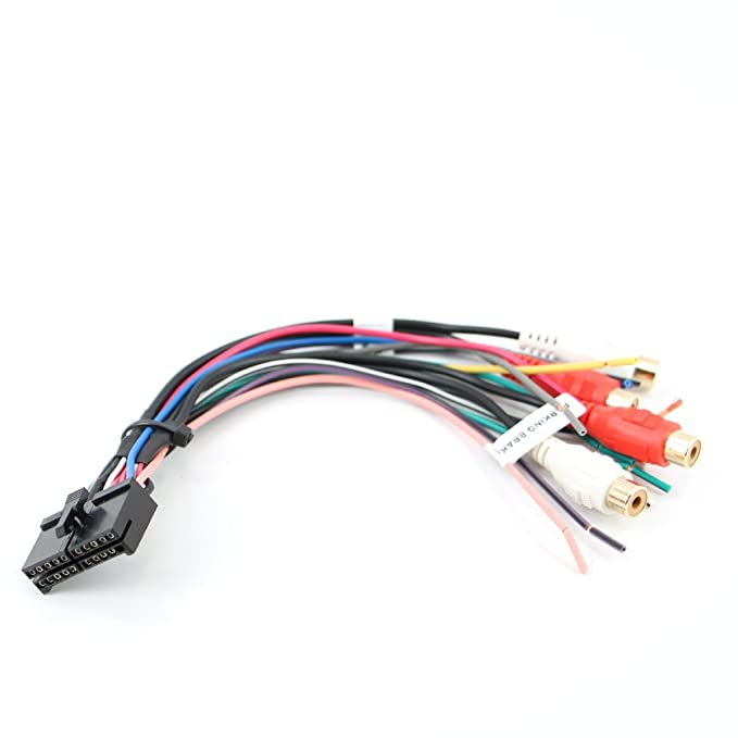 amazon com xtenzi wire harness radio for jensen 20pin vm9510 vm8113 rh amazon com