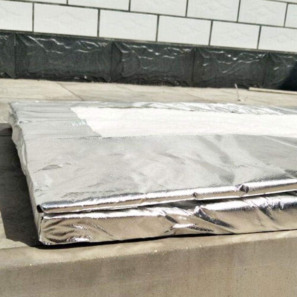 bulrusely Couverture disolation en Fibre de c/éramique en Aluminium de Couverture daiguille de Silicate Couverture disolation r/éfractaire de Coton disolation r/éfractaire de Coton Astonishing