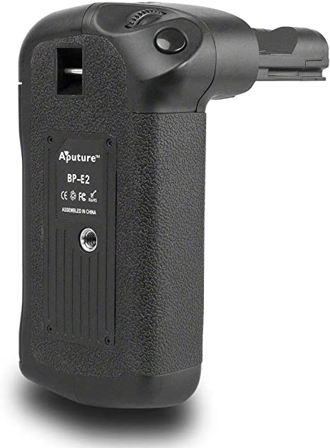 Aputure BP-E2 - Empuñadura de batería para Canon EOS 20D, 30D, 40D ...