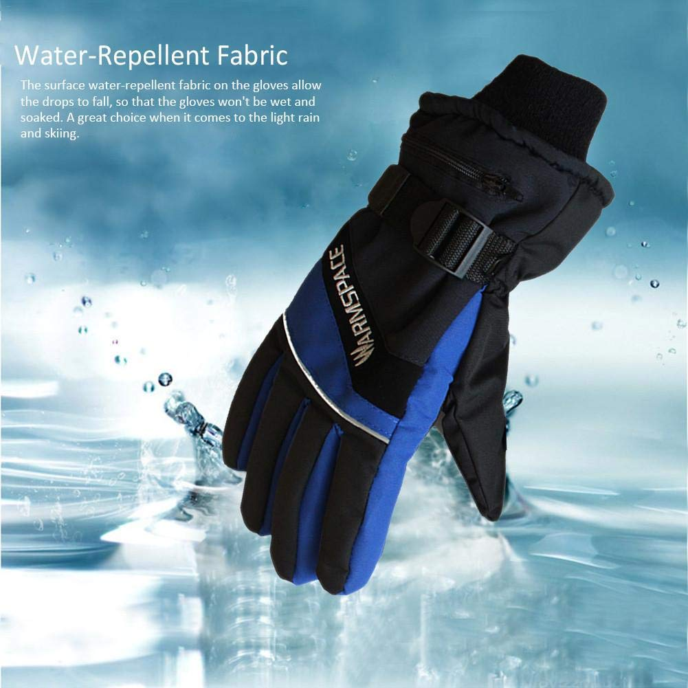 Waterproof With Rechargeable Li-ion Battery Touchscreen Electric Warm Gloves For Cycling For Quick /& Even Heating Heated Gloves For Men And Women