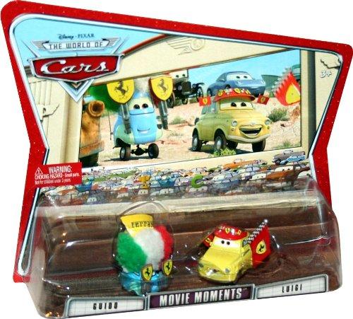 Disney Pixar Cars Guido & Luigi Ferrari Fans Movie Moments 1:55 (Luigi Ferrari Fans)