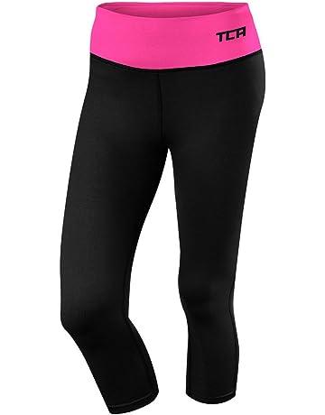 TCA Femme Pro Performance Collant de Running Longueur 3//4