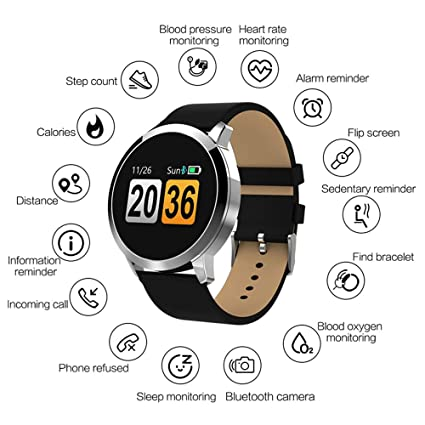 Amazon.com: TONGTONG Smart Watch OLED Color Screen ...