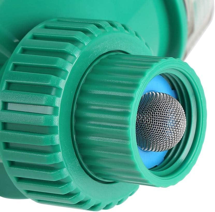 Raguso Temporizador de riego autom/ático Temporizador de riego de jard/ín Digital el/éctrico Controlador de riego de Flores Inteligente para riego de jard/ín dom/éstico