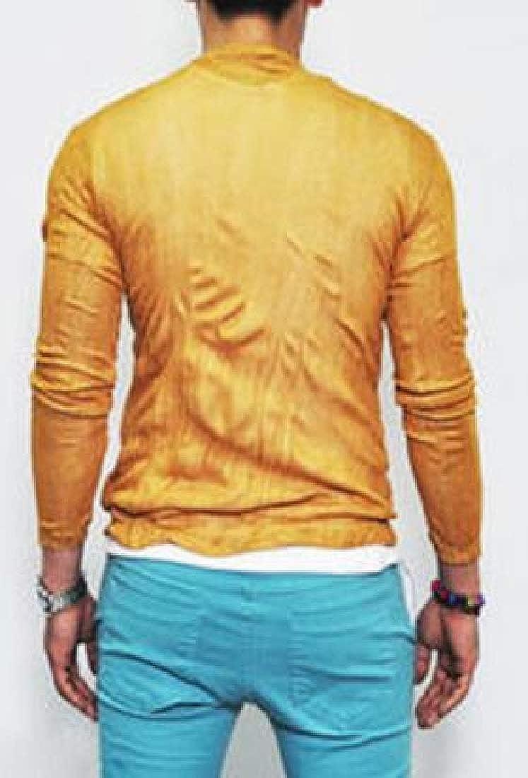 Zantt Men Cardigan Regular Fit Long Sleeve Solid Cotton Linen Casual Shirt