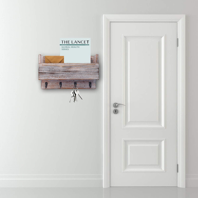 Halcent Etagere Murale Bois /Étag/ère Cuisine Etagere Douche Etag/ères Murales Salle de Bain Porte-/Épices pour Cuisine Salle de Bains Salon