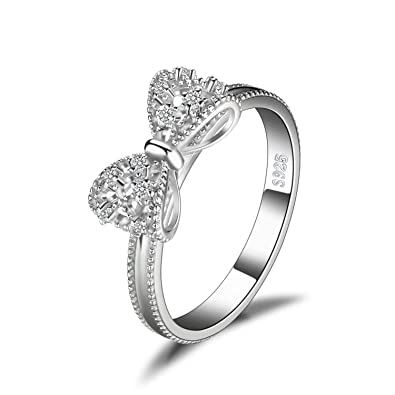 483a003e2f2 JewelryPalace Cubic Zirconia Anniversary Wedding Ring 925 Sterling Silver  Size 6