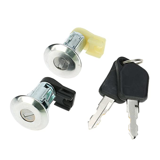 PEUGEOT 405 COMPLETE LOCK SET 2 KEYS 2 BARREL+BOOT LOCK FRONT RIGHT-LEFT