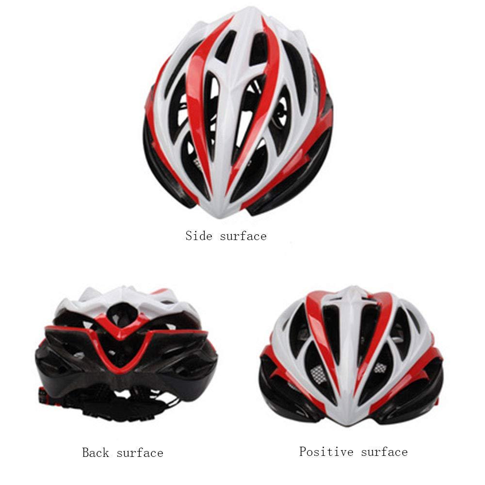 venta caliente WLJBY Montar en monopatín Casco de Bicicleta Casco Ciclista Cascos Cascos Cascos Ligeros de projoección de Seguridad para Hombres Adultos y Mujeres al Aire Libre (57-63cm)  envío gratuito a nivel mundial