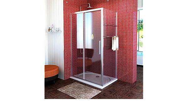 Cabina de ducha 140 x 70 cm, mampara de 140 x 70 x 200 cm (BxH ...