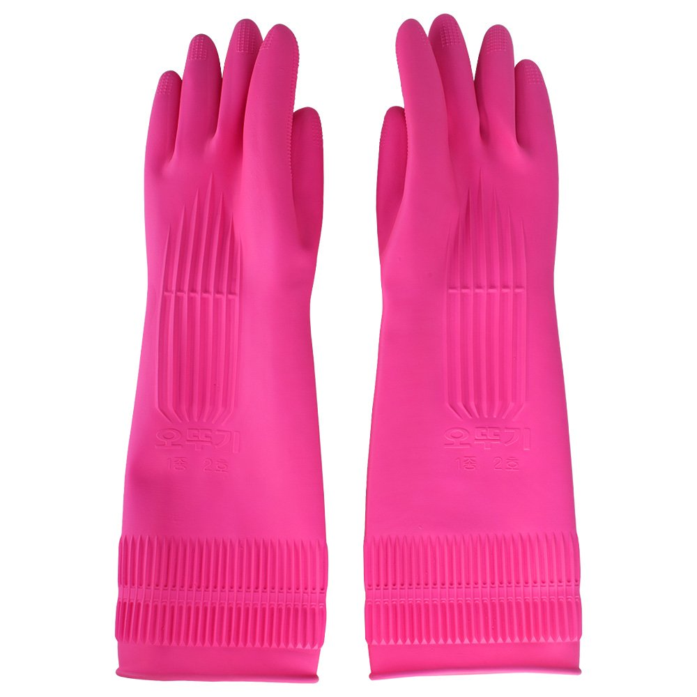 Latex Gloves Pink