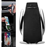 Automatic Clamping Wireless Car Charger Mount - Car Charger Holder for iPhone XR XS Max X