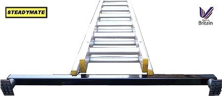Dispositivo de seguridad de escalera de mano STEADYMATE pies de goma 1 metre estabilizador extra anchos para hombre: Amazon.es: Bricolaje y herramientas