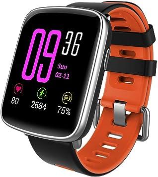 Smart Watch,Yamay Bluetooth Smartwatch Waterproof IP68 Fitness ...