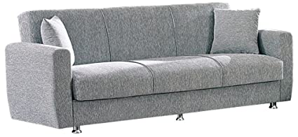 Superieur BEYAN Niagara Collection Modern Fold Out Convertible Sofa Bed Sleeper With  Storage Space, Includes 2