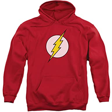 a18d243a2a91 Trevco Hoodie DC Comics Flash Logo Pullover Hoodie Size XXXL