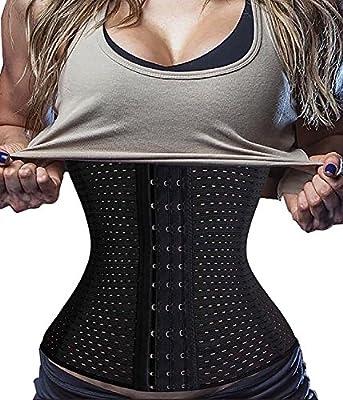74ec8135bd8 BodyMaster Breathable Hot Waist Trainer Corset for Weight Loss Sport Body  Shaper Tummy Control Fat Burner Belt Girdle Bodysuit Gym Workout Yoga Sport  For ...