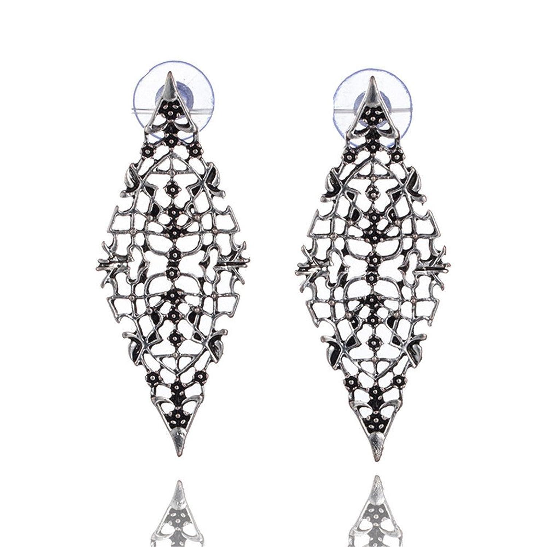 47d14c0e52c9 Caliente de la venta Dana Carrie Orejas Bohemia de aleación Diamante largo