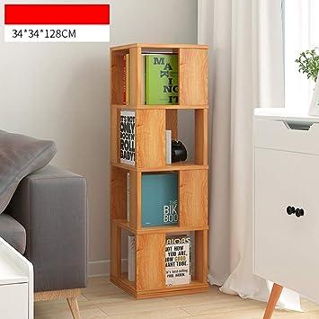 Shelves ZR- Libreria Girevole da Pavimento, Semplice libreria per ...