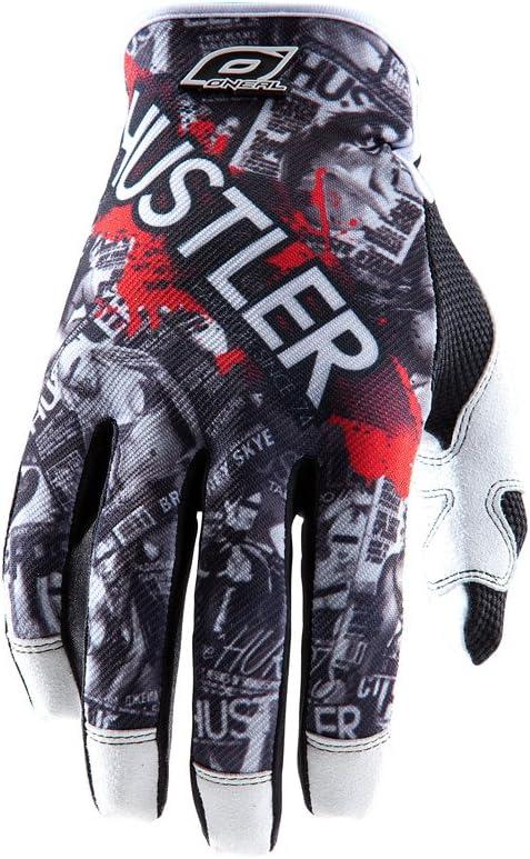 ONeal Jump Hustler MX DH FR Black//White Gloves