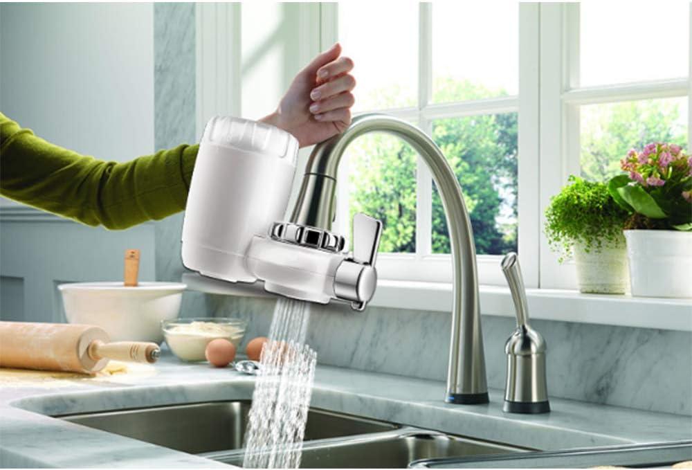 GNB Filtro de Agua para Grifo, Filtro de Grifo de Agua para Grifo de Cocina, Interruptor de Filtro purificador de Agua del Grifo, Instalación fácil: Amazon.es: Hogar