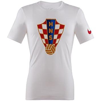Nike CRO Crest tee Camiseta Manga Corta de la línea Federación Croata de fútbol, Hombre