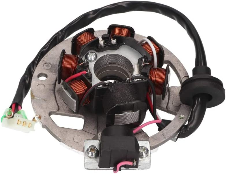 Alternatore di ricambio per motori Minarelli da 50 ccm.