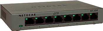 Netgear GS308 ProSAFE 8-Port Unmanaged Switch