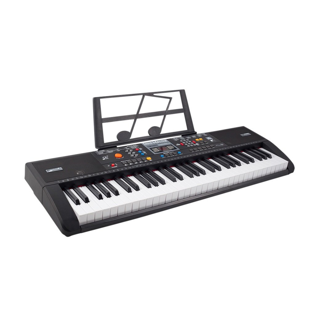 b6fa09231b7 Piano Keyboard Electronic Set 61 Keys Light Music Electric with USB MP3  Input