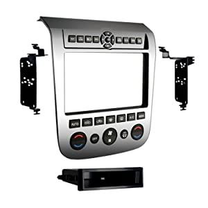 Metra 99-7612A Single/Double DIN Installation Dash Kit with Aluminum Finish for 2003-2007 Nissan Murano